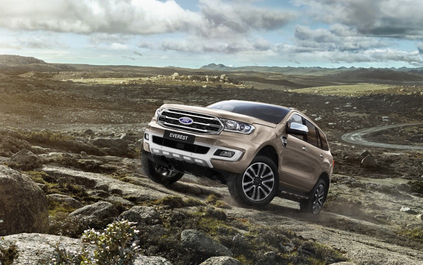 2019 Ford Everest Colors Redesign Interior Release Date