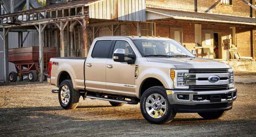 2019 Ford F-350 concept
