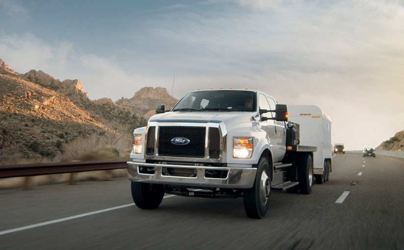2019 Ford F-650 changes