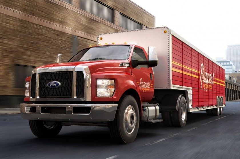 2019 Ford F-750 changes