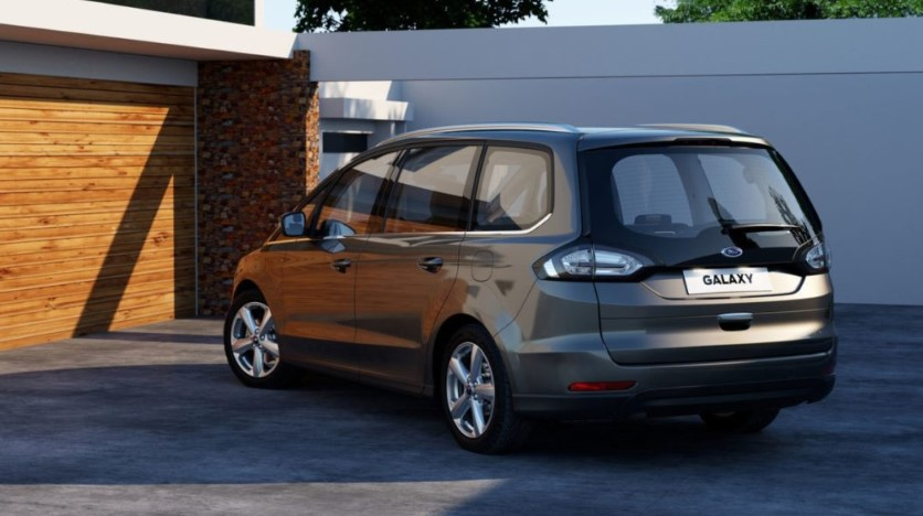 2019 Ford Galaxy changes