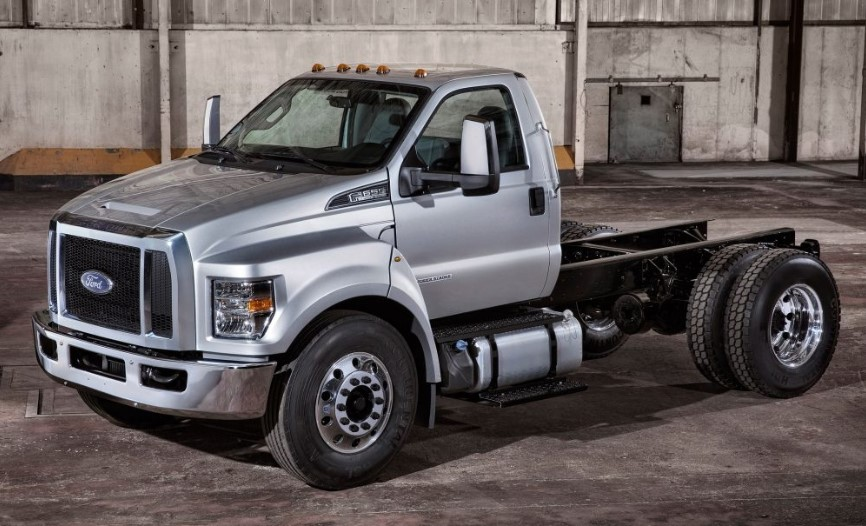 2020 Ford F-650 concept
