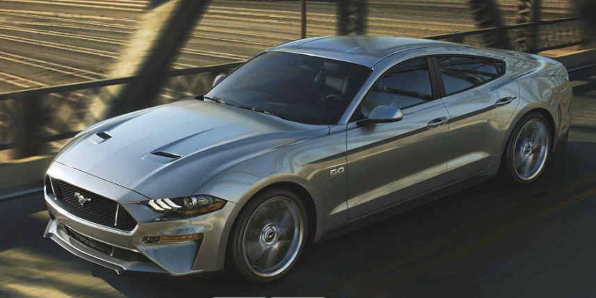 2020 Ford Mustang 4 Door changes