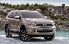 2019 Ford Everest Titanium Bi-Turbo changes