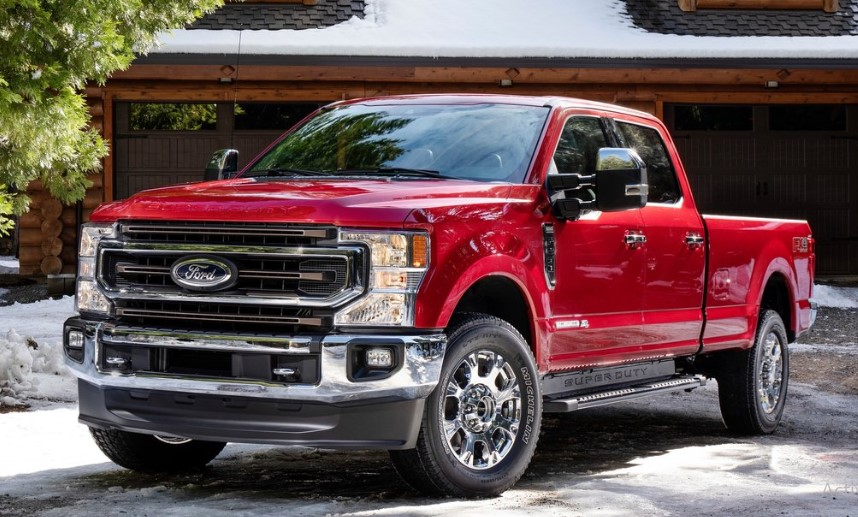 2020 F-Series Super Duty changes