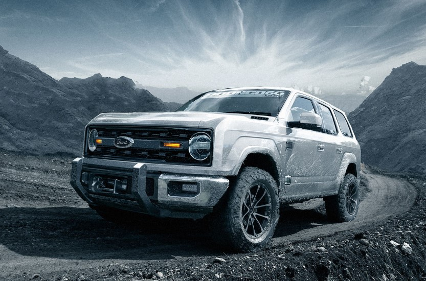 2020 Ford Bronco Third Row