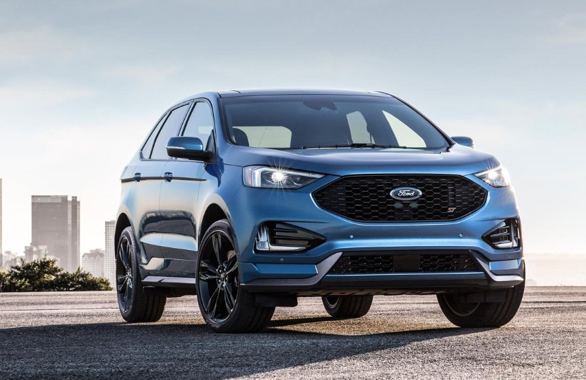 2020 Ford Edge GT changes