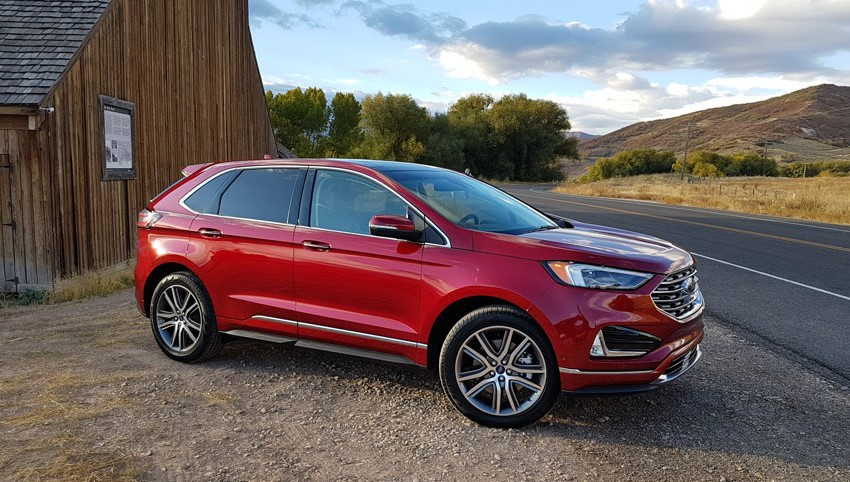 2020 Ford Edge SE release date