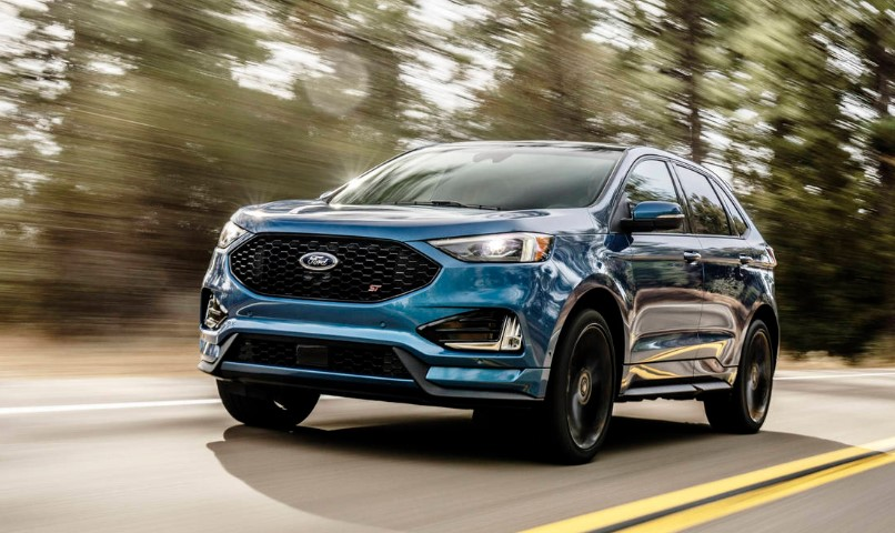2020 Ford Edge ST changes