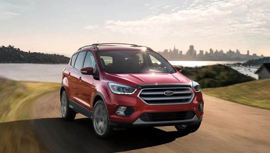 2020 Ford Escape S changes