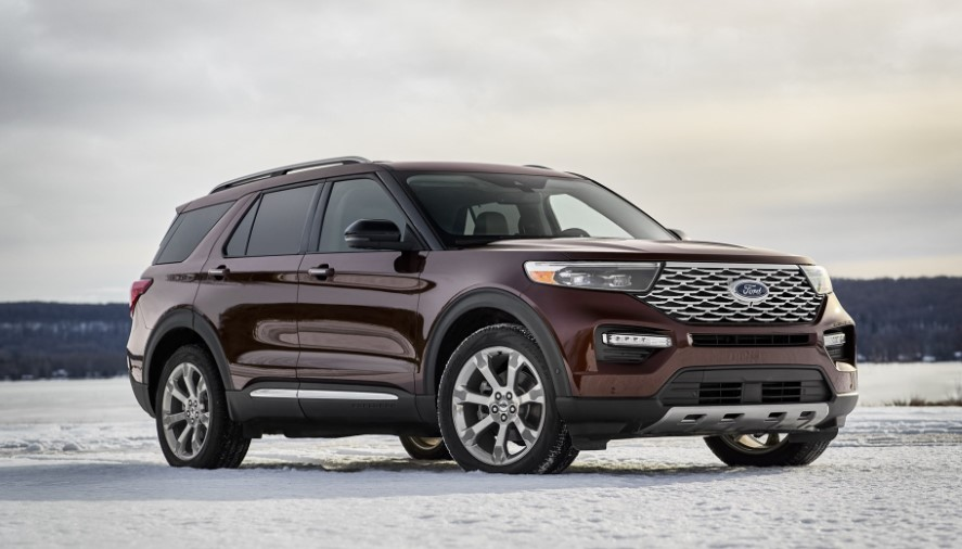 2020 Ford Explorer Platinum changes