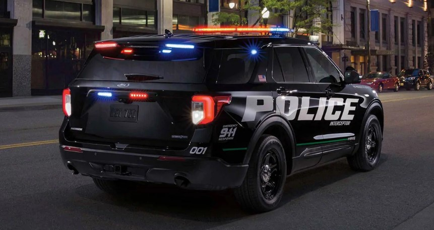 2020 Ford Explorer Police Interceptor changes