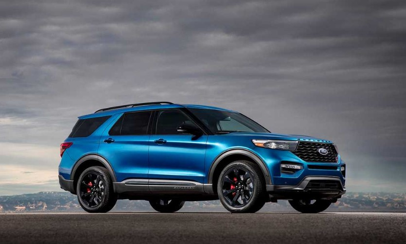 2020 Ford Explorer ST redesign