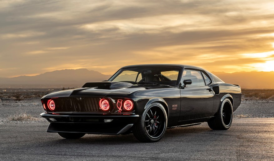 2020 Ford Mustang Boss 429 changes