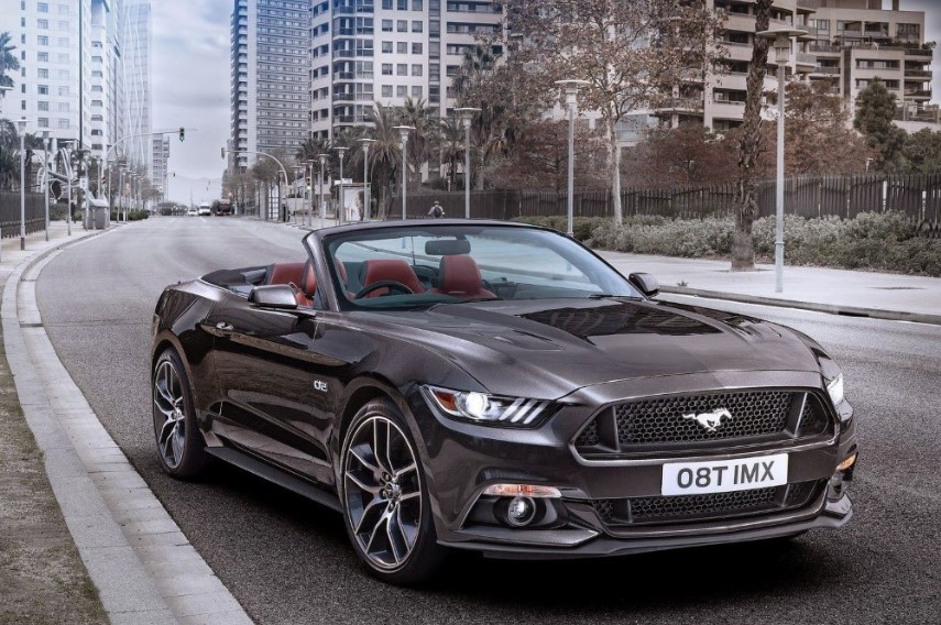 2020 Ford Mustang Convertible concept