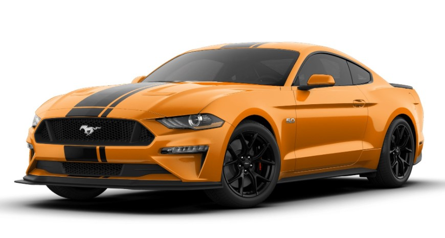 2020 Ford Mustang GT Premium changes