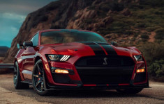 2020 Ford Mustang GT500 Shelby changes