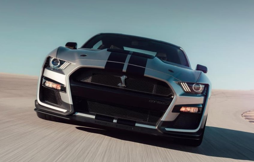 2020 Ford Mustang GT500R changes