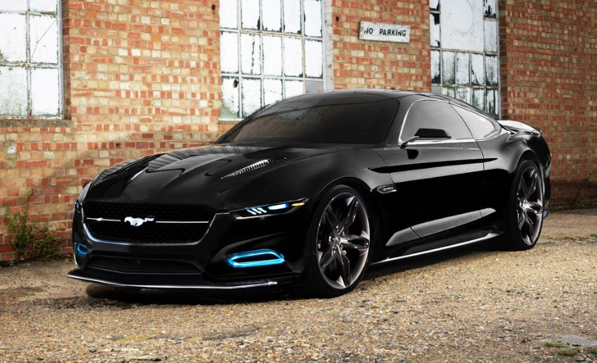 2020 Ford Mustang Mach-E concept