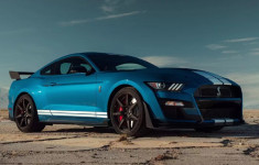 2020 Ford Mustang Shelby GT500 changes