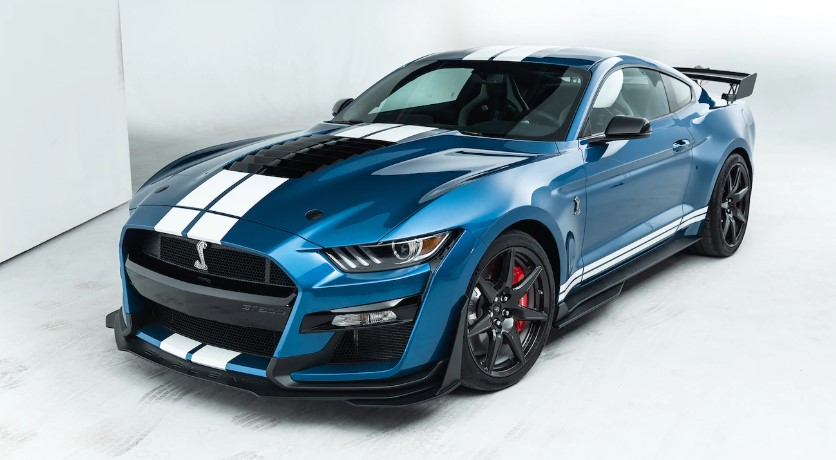 2020 Ford Mustang Shelby GT500 horsepower