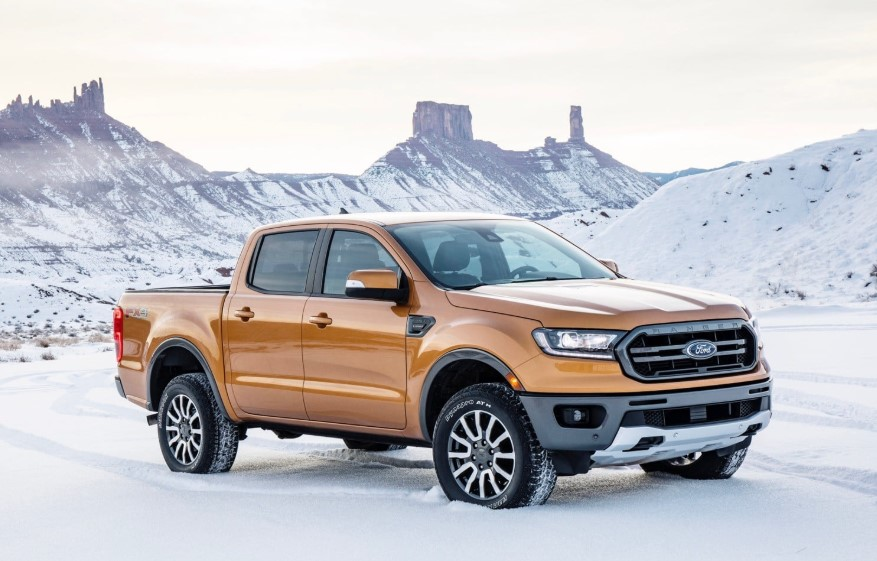 2020 Ford Ranger FX4 changes
