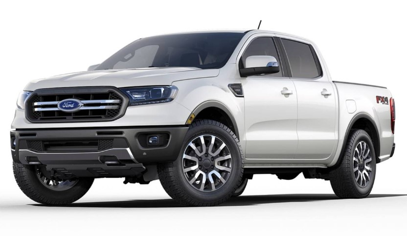 2020 Ford Ranger Supercrew changes