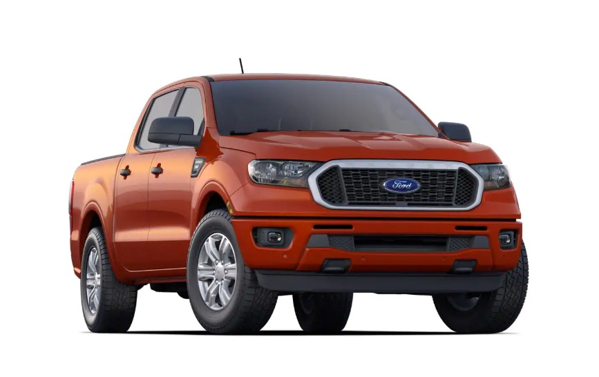 2020 Ford Ranger XLT changes