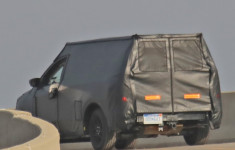 2021 Ford Courier spy shot