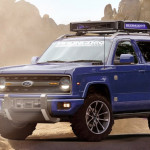 2020 Ford Bronco Blue Colors