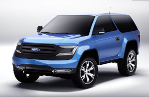 2020 Ford Bronco USA