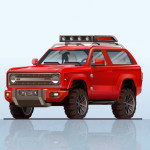 2020 Ford Bronco Red Colors
