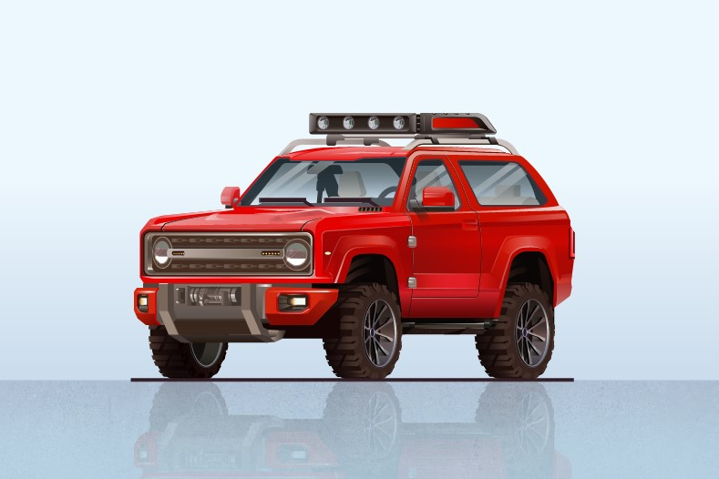 2020 Ford Bronco SVT design 2020 Ford Bronco Red Colors, Release Date, Interior, Changes