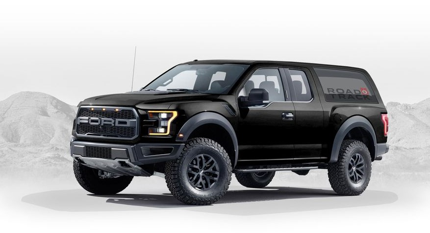 2020 Ford Bronco Black Colors