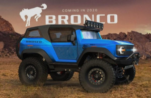 2020 Ford Bronco UK concept