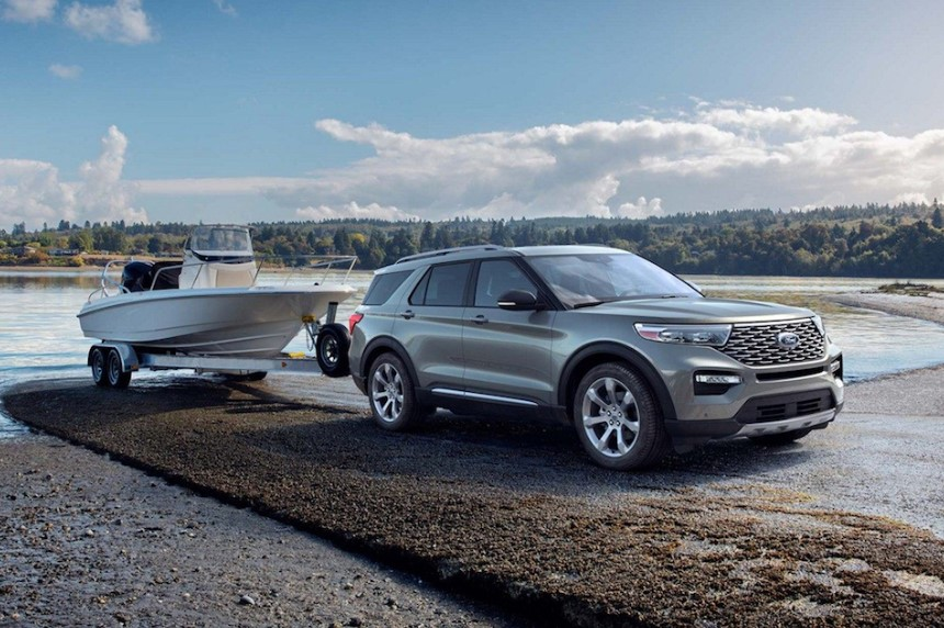2020 Ford Explorer 2.3L changes