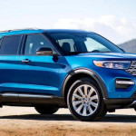 2020 Ford Explorer Blue release date
