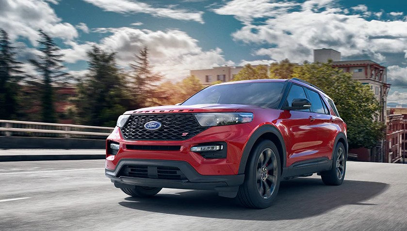 2020 Ford Explorer ST Towing Capacity