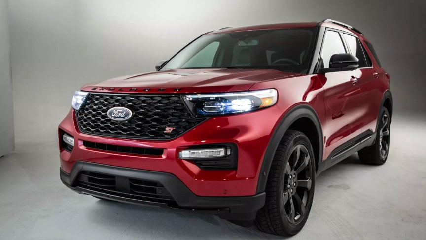 2020 Ford Explorer EV design