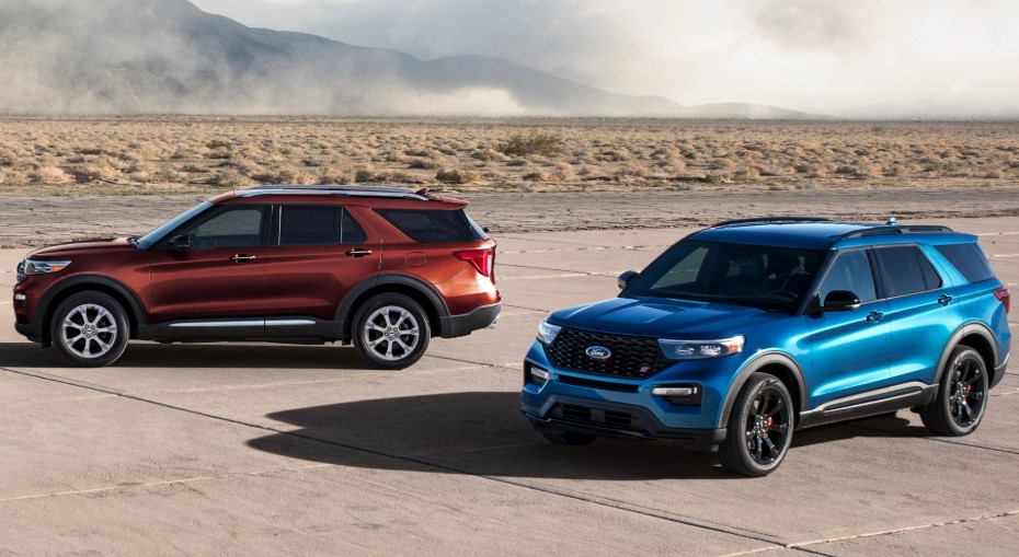 2020 Ford Explorer Spy Photos