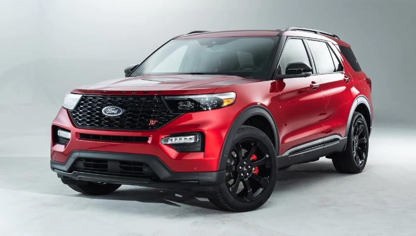 2020 Ford Explorer ST MSRP concept