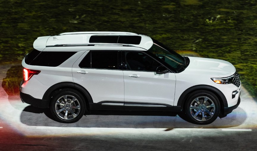 2020 Ford Explorer Third Row changes