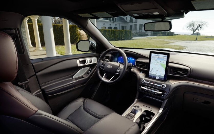 2020 Ford Explorer Turbo interior 2020 Ford Explorer 4 Cylinder Release Date, Interior, Changes, Specs, Price