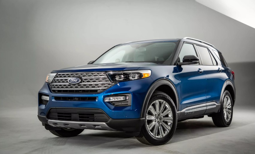 2020 Ford Explorer UK design