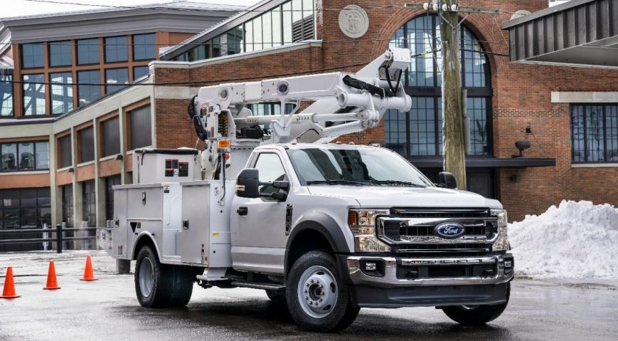 2020 Ford F-600 Super Duty concept