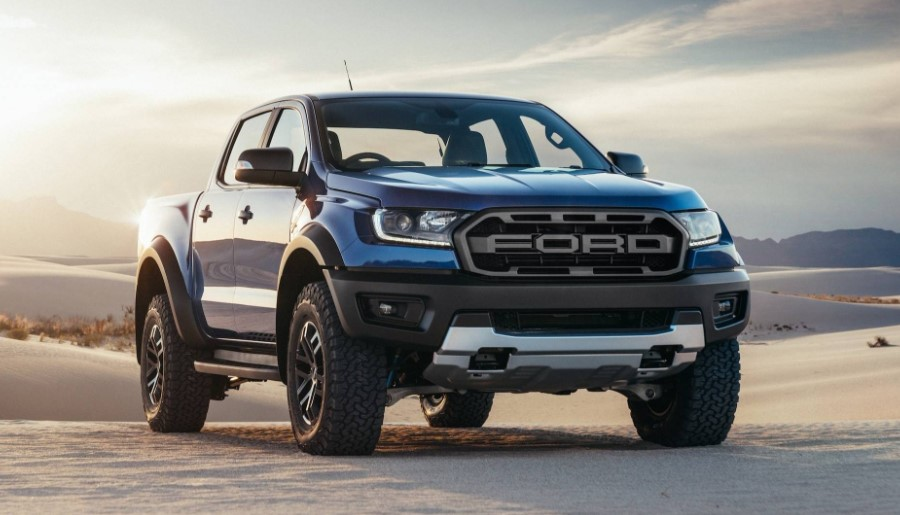 2020 Ford Ranger Raptor redesign