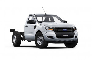 2020 Ford Ranger Single Cab design