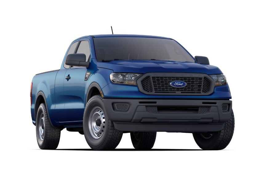 2020 Ford Ranger Super Cab changes