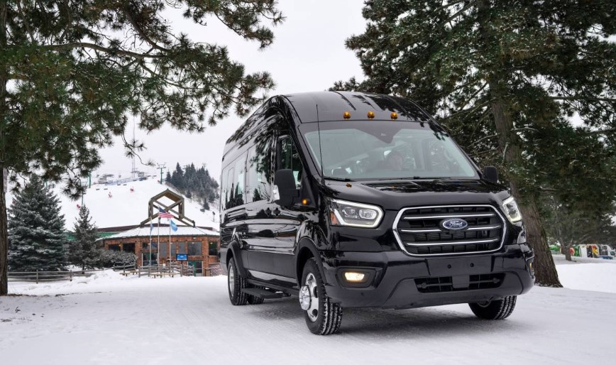 2020 Ford Transit AWD concept