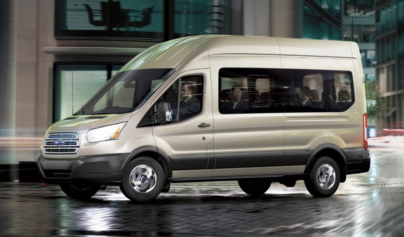 2020 Ford Transit Wagon design